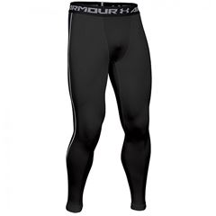Billede af Under Armour Sorte ColdGear Armour Kompressionstights 1265649-001