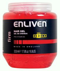 Billede af Enliven Hair Gel - Firm hold - 500ml