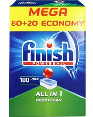 Billede af Finish Neophos ALL IN 1 Deep Clean powerball opvasketabs 100 stk.