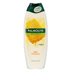 Billede af Palmolive Shower Gel Naturals Milk & Honey - 650 ml.