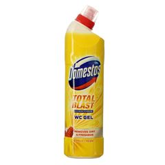 Billede af Domestos Toiletrens WC gel - Total Blast - Citrus - 750 ml.
