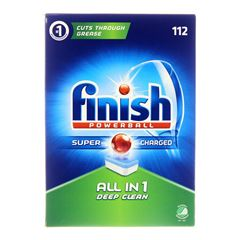 Billede af Finish Neophos ALL IN 1 Deep Clean powerball opvasketabs 112 stk.