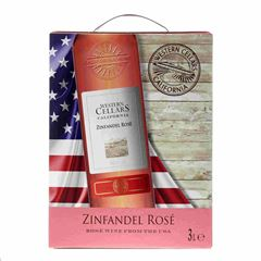 Billede af Western Cellars Zinfandel Rose   - Rosévin - USA - 3 liter - Bag in box